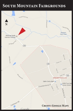 Map - NAHF